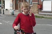 """Imagine din """"Baiatul cu bicicleta"""""""