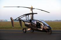 PAL-V One este o masina care poate fi transformata foarte usor in girocopter.