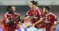 Muntari (stanga), gol decisiv pentru Milan
