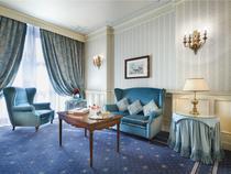 Camera in hotelul de cinci stele Principe di Savoia