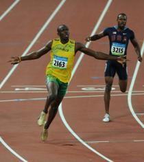 Usain Bolt, la Beijing 2008
