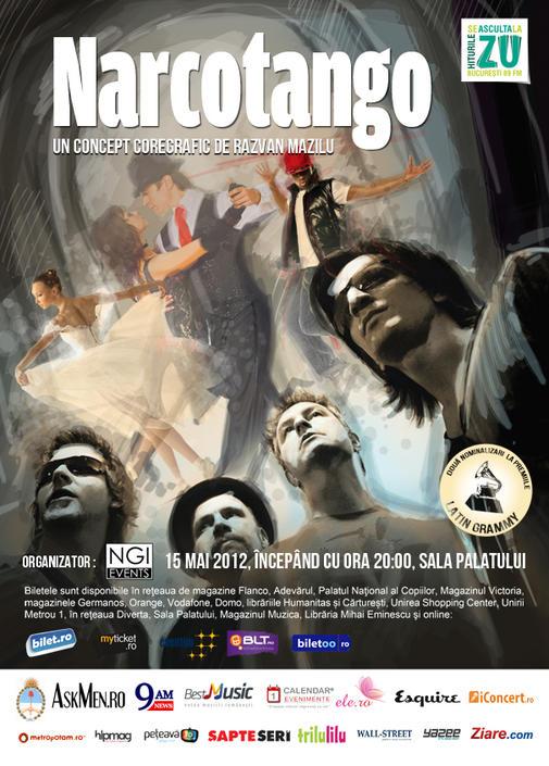 Poster Narcotango & Razvan Mazilu