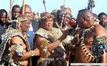 Presedintele sud-african Jacob Zuma, in timpul ceremoniei de nunta