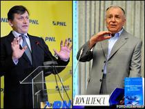 Crin Antonescu si Ion Iliescu