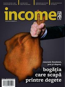 income magazine - coperta primului numar