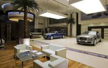 Showroom Rolls Royce in Abu Dhabi