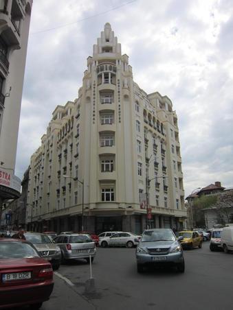 TURIST PRIN BUCURESTI. HOTEL UNION