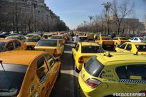 Protestul taximetristilor