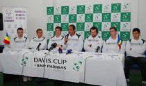 Echipa de Cupa Davis: componenta inedita, cu Ciprian Porumb capitan nejucator (in centru)