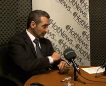 Sebastian Lazaroiu in studioul HotNews
