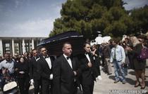 Funeraliile pensionarului grec