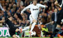 Cristiano Ronaldo, fara gol contra Valenciei