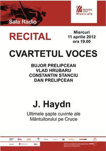 Cvartetul Voces - afis