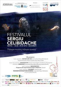 Afis Festival Sergiu Celibidache