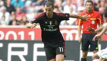 Zlatan Ibrahimovic in tricoul celor de la AC Milan