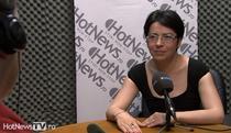 Loredana Visa in studioul HotNews.ro