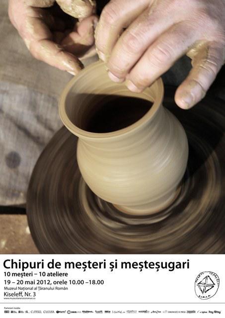 Targul 10 mesteri – 10 ateliere va avea loc la Muzeul Taranului Roman intre 19 si 20 mai