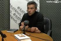 Tiberiu Soare in studioul Hotnews.ro