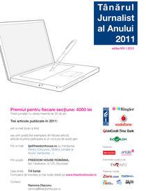 Afis lansare TJA 2012
