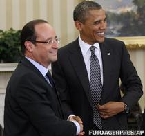 Francois Hollande si Barack Obama
