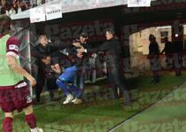 Beto, batut in tunelul de pe Cluj Arena
