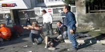 Imagini dupa explozia din Brindisi