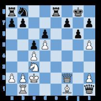 Anand - Gelfand (8), pozitia finala: 17. Df2!! si negrul a cedat