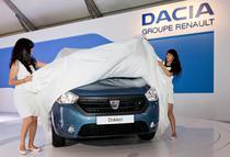 Dacia Dokker la Salonul Auto de la Casablanca 2012