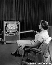 Reclama pentru telecomanda Flash-Matic (1955)