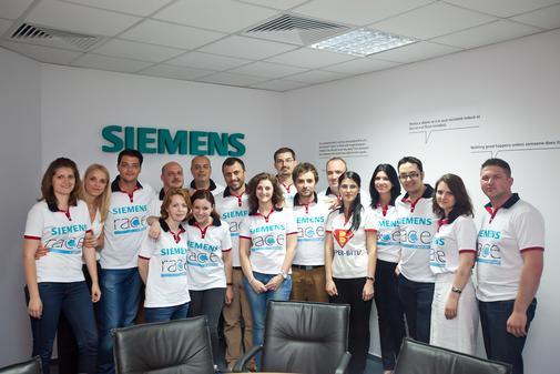 Echipa Siemens Race la Evenimentul de Finish 16 mai2012
