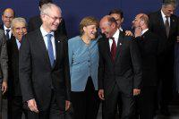 Merkel si Basescu la poza de familie