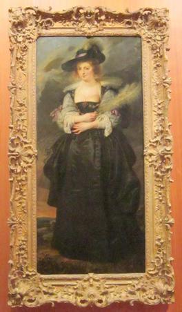 PORTRETUL HELENEI FOURMENT de Peter Paul Rubens