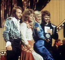 ABBA dupa castigarea Eurovision 1974