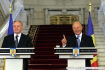 Nicolae Timofti si Traian Basescu