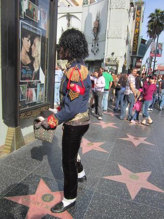 Din amintirile unui turist fericit, Street of Fame