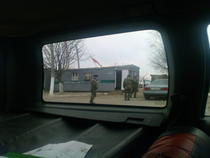Control militarizat la granita transnistreana