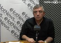 Alexandru Lazescu in studioul HotNews.ro