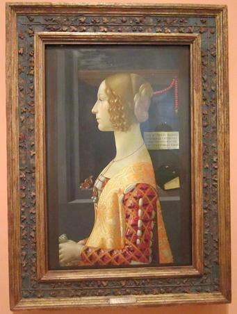 GIOVANNA TORNABUONI de Domenico Ghirlandaio