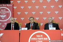 Anghel Iordanescu, Neculai Ontanu, Marian Sarbu (UNPR)