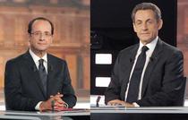 Francois Hollande vs. Nicolas Sarkozy (dezbaterea televizata)