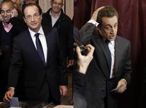Francois Hollande vs. Nicolas Sarkozy (la urne)