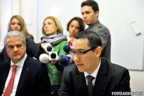 Adrian Nastase si Victor Ponta