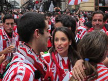 FOTOGALERIE Suporteri iberici pe Lipscani