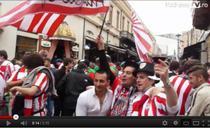 Fanii lui Bilbao sarbatoresc in centrul istoric