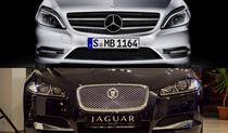 Colaj Mercedes-Benz si Jaguar