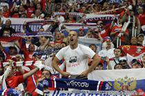 Fanii rusi, cei mai agresivi la EURO 2012