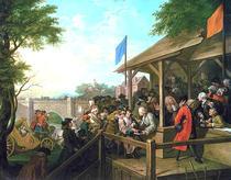 William Hogarth: The Polling (1758)