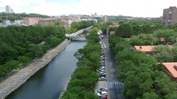 Madridul, la inaltime
