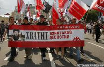 Protest in Moscova