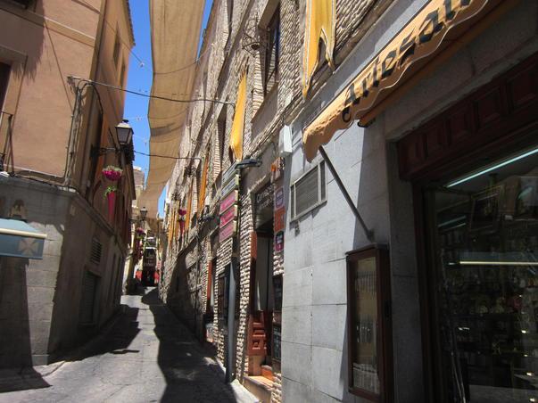 Straduta frumoasa din Toledo